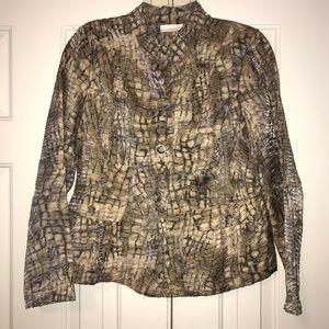 Chico's Jacket Size 1 Women's